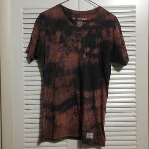 Billabong Red Black T Shirt Size Medium